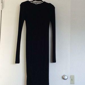 ASOS  NEW BLACK KNIT DRESS